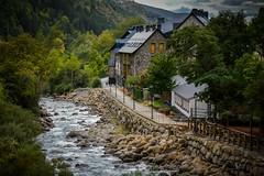 Agua (cesarpc1975) Tags: agua water river ro pirineos huesca espaa casas ruta viaje rbol aragn