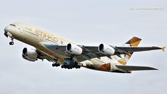A6-APG Etihad Airways Airbus A380-861 (Nick Air Photography) Tags: img0802 a6apgetihadairwaysairbusa380861 nickairphotography londonheathrow takeoff travel planespotting lhr airport