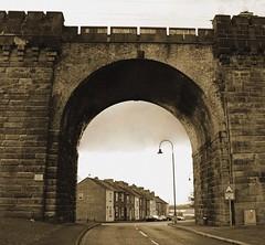Old Runcorn Archway (big_jeff_leo) Tags: runcorn runcornbridge england cheshire river mersey estuary road steel iron archway