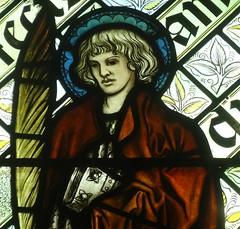 [45615] St Editha, Tamworth : St Barnabas (Budby) Tags: tamworth staffordshire church window stainedglass preraphaelite