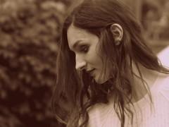 Tiefe Sehnsucht (e³°°°) Tags: profile profiel girl women woman lady dame dream traum droom brenda antwerpen antwerpfashionweekend antwerp meir femme female face fille frau portrait portraiture portret model