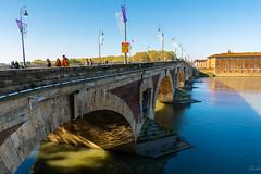 Pont-Neuf (-MiDes-) Tags: d7100 nikon bridge pont garonne toulouse tolosa morning sudouest france river water blue