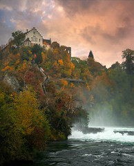 RheinFall (christophe.meyer1985) Tags: suisse switzerland rhin rhein rheinfall automne paysage nikon eau water europe