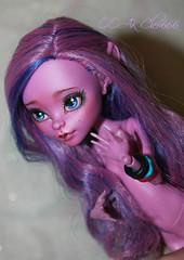 y1tfG43SXoM (Cleo6666) Tags: kjersti trollson monsterhigh monster high mattel custom ooak repaint doll