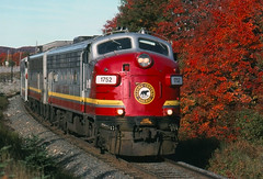 Fall Color at Northland (ac1756) Tags: acr ac wc wisconsincentral 1 northland ontario emd fp9 1752
