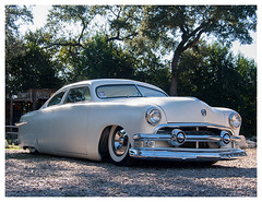 (Peepeye Photography) Tags: peepeyephotography peepeye 1950 1949 50 ford 1950ford 2door pearlwhite white custom lowrider chopped car auto rod streetrod musclecar automotive art color photo photograph photography 51 1951