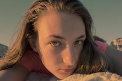 Beach Days (mnfurness) Tags: selfportrait beach sand sun ocean florida fall break portrait