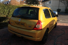 LY 182 29-11-16 002 (AcidicDavey) Tags: liquid yellow renault renaultsport clio 182 ly