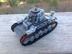 Renault R35 (Blitz Builder) Tags: lego world war two ii tank french r35 renault