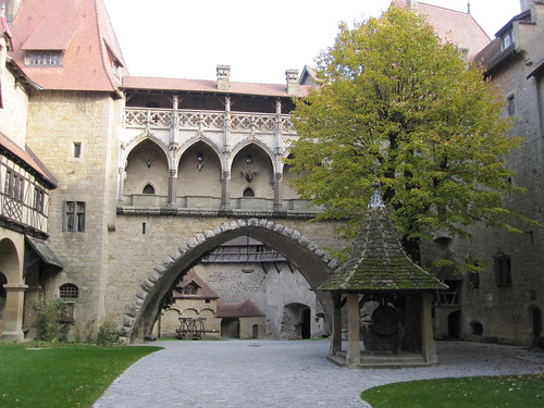 Innenhof Burg Kreuzenstein