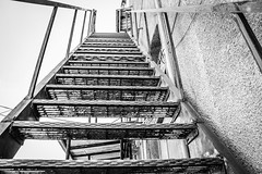 Luling Texas (J&E Adventures) Tags: rebelt3 canonphotography staircase exploration urbandecay canon explore stairs mainstreet urban monochrome digital middleamerica canoneosrebel abstract blackandwhitephotography blackandwhite bw detail