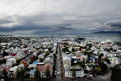 Horizon (the bbp) Tags: select island iceland islanda reykjavik citt town mare sea oceano fiordo fjord vista panorama panoramicview case houses nuvole clouds cielo sky thebbp