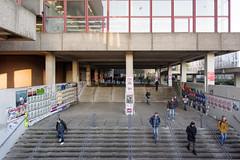 Treppen unter der Unibibliothek (Nilfisk) Tags: bibliothek bochum uni unibibliothek universität nordrheinwestfalen deutschland de