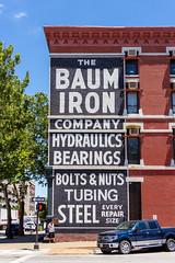 The Baum Iron Company (Eridony (Instagram: eridony_prime)) Tags: omaha douglascounty nebraska downtown sign