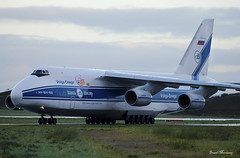 Volga-Dnepr An-124 RA-82042 (birrlad) Tags: shannon snn international airport ireland aircraft aviation airplane airplanes airline airliner airways airlines volgadnepr an124 an124100 cargo freight freighter taxi taxiway runway approach arrival arriving finals landing landed sunrise ra82042 gander doncaster vi2494 volga