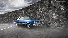 Coronet 500 (Dejan Marinkovic Photography) Tags: 1967 dodge coronet 500 american classic car muscle automotive blue fog