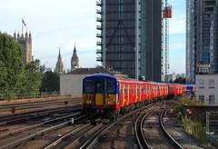 455722 (40011 MAURETANIA) Tags: vauxhall southwesttrains southwest swt blue red class 450 455 444 458 159 waterloo train unit emu electricmultipleunit parliament housesofparliament