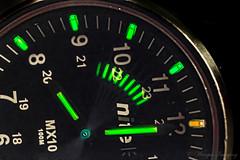 All the 8s (Wargus) Tags: autofocuslens gtls nite pentaxhelicoidextensiontubek pentaxk3 smcpentaxfa35mm tritium watch