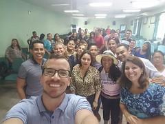 Selfie do lançamento do webdosumentário AmazonAids