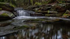 Cattai Creek 12 (RoosterMan64) Tags: australia castlehill cattaicreek creek landscape leefilters longexposure nsw rocks water waterfall