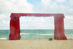 Red Curtains (Michael Goldrei (microsketch)) Tags: photo december art atlantic street view sea ocean 2015 dec mark curtains red us photos 3 beach photographer curtain st iii 5d 15 usa photography america fair canon basel