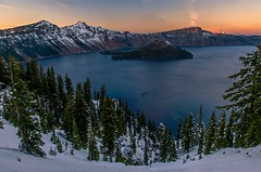 November Sunset on Crater Lake (Cole Chase Photography) Tags: craterlake fall autumn winter oregon pacificnorthwest canon eos5dmarkiii