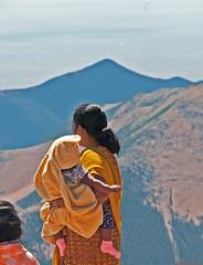 Eternity (Fenfotos) Tags: pikespeak colorado mountains mountaintop summit eternity perspective contemplation meditation wordless motherandchild nikon d300
