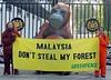 CITES Malaysian embassy demo Oct6_2 (Senyai1) Tags: logging protest malaysia cites greenpeace
