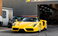 Giallo Modena (Alexbabington) Tags: ferrari enzo yellow giallomodena italian v12 cars car supercar supercars london