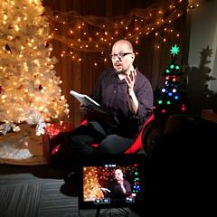 Countdown to Black Friday (FotodioxPro) Tags: iphone6s blackfriday videoshoot christmas christmastree set setdesign behindthescenes countdown bohus bohusblahut filmset christmaslights