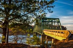 Golden Hour at Browns Bridge (The Suss-Man (Mike)) Tags: autumn bridge brownsbridge fall forsythcounty gainesville georgia hallcounty lake lakelanier lanier nature sonya550 sunset sussmanimaging thesussman water goldenhour