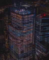PanoIII (tausigmanova) Tags: panorama pano nikon d3300 manhattan new york city nyc urban skyline night nightphotoraphy world trade wtc freedomtower freedom tower oneworldobservatory longexposure