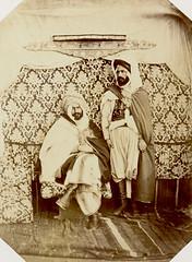 Lakhdar ben Merad (Qad of Gerfa tribe), Ali ben Mohammed (Guelma's Qad), 1856-1857 (Benbouzid) Tags:            lakhdar ben merad caid kaid qaid ali muhammad mohammed