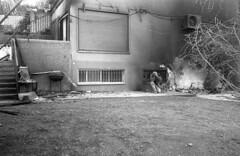 exakta_vx_kodak_triX_400_haifa_fire_26_nov_2016_016 (avitalnatanson) Tags: exakta fire damage kodak trix arson terror haifa carmel
