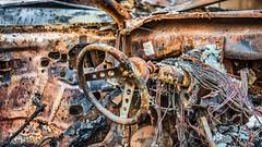 - Bild 5 - (Norbert Helbig) Tags: schrott wrack nikon d7200 outdoor fahrzeuge automobil auto verkehr technik