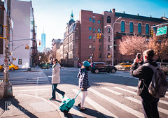 NYC | Instagram:@bayanalsadiq (Bayan AlSadiq) Tags: red niece travel newyork new york city places sunlight trees beauty cold travelphotography traveling sunny ny