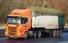 SCANIA R440 - STEVENSON Avombridge (scotrailm 63A) Tags: lorries trucks stevenson