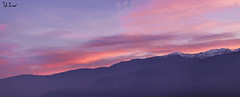 Panoramica tramonto 11-12-2016 (f.cevrero) Tags: panoramic clouds rouge red rosso landscape mountains alps alpino paesaggio sky nikon d3200