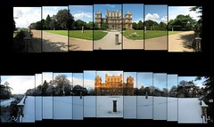 Wollaton Hall (aka Wayne Manor) Through the Seasons (ldjldj) Tags: park nottingham winter summer snow dark hall wayne knight manor rises wollaton panograph
