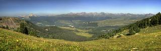 View above Andrews Lake_Panorama1 re