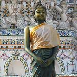 Wat Arun temple - Bangkok -    Excellent Buddha Statue thumbnail