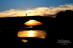 Puente Ariza (pepe__72) Tags: sunset sol de puente atardecer puesta jan beda ariza giribaile puenteariza