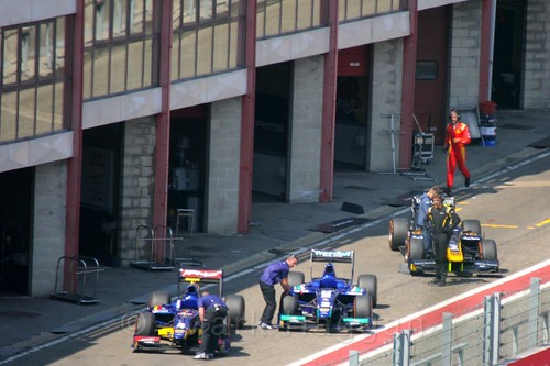 GP2 Qualifying at the 2015 Belgium Grand Prix