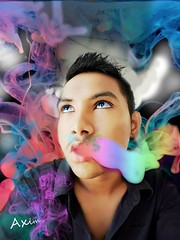 20150909_13jj1gg011 (editsaxim) Tags: art smoke lips smoking colored axim edit abdulla azim