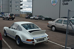 Porsche 911 Carrera 2.7 RS (CA Photography2012) Tags: ca uk white car club photography 911 automotive icon exotic german silverstone porsche annual 27 legend rs coupe meet touring bentley spotting drivers carrera clssic pgf270l