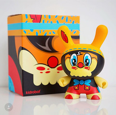 No Strings On Me - Artist Proof (WuzOne) Tags: geek vinyl kidrobot collectible custom onsale dunny pinochio vinyltoy artoy thewuz wuzone nostringsonme