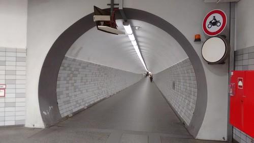 Kiel Canal - Rendsburg - Pedestrian tunnel