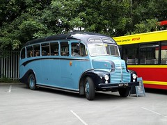 tn_MHY 765 - LEYLAND COMET - ORIENT - 1 (focus- transport) Tags: bus public buses vintage cub volvo day south sheffield yorkshire tiger running southyorkshire b10 preseverd