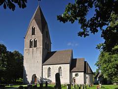 Msterby kyrka, Gotland (Bochum1805) Tags: church medieval kyrka kyrktorn