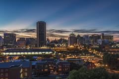 RVA from the Rooftops (Joey Wharton) Tags: city sunset skyline night virginia downtown richmond rva